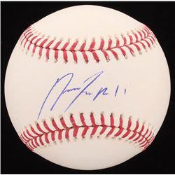 Jose Ramirez Signed OML Baseball (Radtke COA)