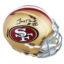 Jerry Rice Signed San Francisco 49ers Full-Size Speed Helmet (Radtke COA)