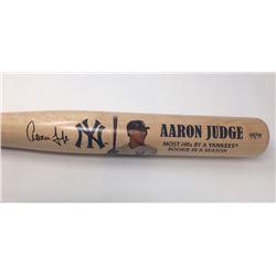 Aaron Judge Signed Yankees Limited Edition Commemorative Home Runs Baseball Bat (Fanatics Hologram)