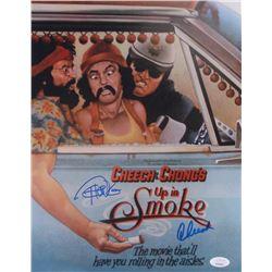 """Cheech Marin  Tommy Chong Signed """"Up In Smoke"""" 11x14 Photo (JSA COA)"""