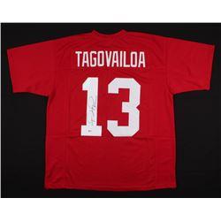 Tua Tagovailoa Signed Jersey (Beckett COA)