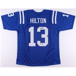 "T. Y. Hilton Signed Jersey inscribed ""Go Colts"" (JSA COA)"
