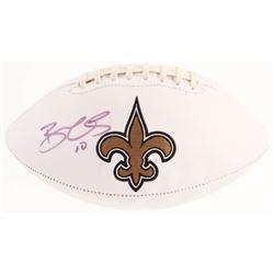 Brandin Cooks Signed New Orleans Saints Logo Football (JSA COA)