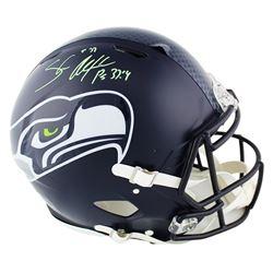 Shaun Alexander Signed Seattle Seahawks Full-Size Authentic On-Field Speed Helmet (Radtke COA)