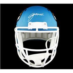 Gardner Minshew Signed Jacksonville Jaguars Full-Size AMP Alternate Speed Helmet (Radtke COA)