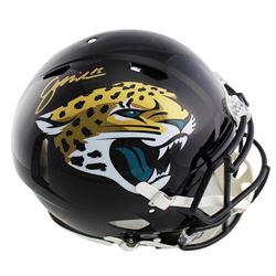 Gardner Minshew Signed Jacksonville Jaguars Full-Size Authentic On-Field Speed Helmet (Radtke COA)