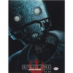 """Alan Tudyk Signed """"Rogue One"""" 11x14 Photo (PSA COA)"""