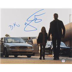 "Hugh Jackman  Dafne Keen Signed ""Logan"" 11x14 Photo (PSA COA)"