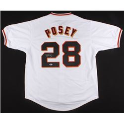 Buster Posey Signed Jersey (Beckett COA)
