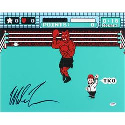 """Mike Tyson Signed """"Punch-Out!!"""" 16x20 Photo (PSA COA)"""