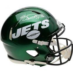 Sam Darnold Signed New York Jets Full-Size Authentic On-Field Speed Helmet (Fanatics Hologram)