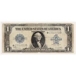 Star Note - 1923 $1 One Dollar Blue Seal Large Size Silver Certificate Bank Note