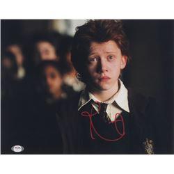 "Rupert Grint Signed ""Harry Potter and the Prisoner of Azkaban"" 11x14 Photo (PSA COA)"