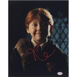 "Rupert Grint Signed ""Harry Potter"" 11x14 Photo (PSA COA)"