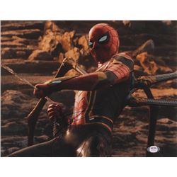 "Tom Holland Signed ""Avengers: Endgame"" 11x14 Photo (PSA COA)"