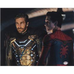 "Tom Holland  Jake Gyllenhaal Signed ""Spider-Man: Far From Home"" 11x14 Photo (PSA COA)"