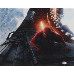 "Tom Holland Signed ""Avengers: Infinity War"" 11x14 Photo (PSA COA)"