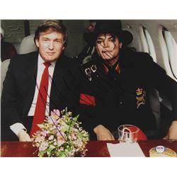 Donald Trump Signed 11x14 Photo (PSA LOA)