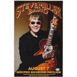 Steve Miller Signed Steve Miller Band 11x17 Photo (PSA COA)