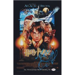 """Daniel Radcliffe Signed """"Harry Potter and the Sorcerer's Stone"""" 11x17 Photo (PSA COA)"""