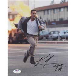 """Keanu Reeves Signed """"Speed"""" 8x10 Photo with Inscription (PSA COA)"""