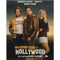 """Quentin Tarantino Signed """"Once Upon a Time in Hollywood"""" 16x20 Photo (PSA Hologram)"""