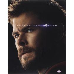 "Chris Hemsworth Signed ""Avengers: Endgame"" 16x20 Photo (PSA COA)"
