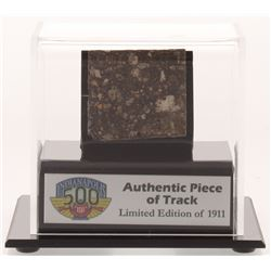 Authentic Piece of Indianapolis Motor Speedway - Indy 500 - Track - with Display Case (Fanatics COA)