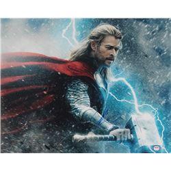 "Chris Hemsworth Signed ""Avengers: Infinity War"" 16x20 Photo (PSA COA)"