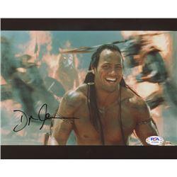 "Dwayne ""The Rock"" Johnson Signed ""The Mummy Returns"" 8x10 Photo (PSA COA)"