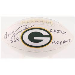 "Jerry Kramer Signed Green Bay Packers Logo Football Inscribed ""S.B. I + II""  ""H.O.F. 2018"" (Radtke C"
