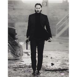 "Keanu Reeves Signed ""John Wick"" 16x20 Photo (PSA COA)"