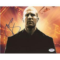 """Jason Statham Signed """"Wild Card"""" 8x10 Photo (PSA COA)"""
