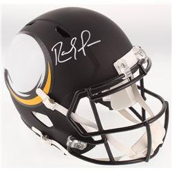 Randy Moss Signed Minnesota Vikings Full-Size AMP Alternate Speed Helmet (Beckett COA)