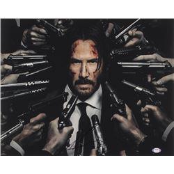 "Keanu Reeves Signed ""John Wick: Chapter 3 – Parabellum"" 16x20 Photo (PSA COA)"