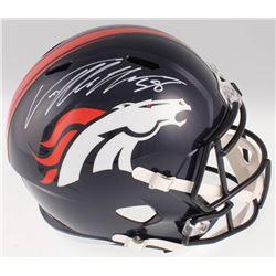 Von Miller Signed Denver Broncos Full-Size Speed Helmet (JSA COA)