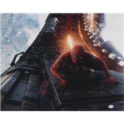 "Tom Holland Signed ""Avengers: Infinity War"" 16x20 Photo (PSA COA)"