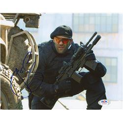 """Jason Statham Signed """"The Expendables"""" 8x10 Photo (PSA COA)"""