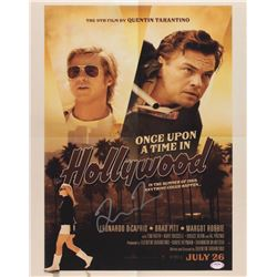 """Quentin Tarantino Signed """"Once Upon a Time in Hollywood"""" 16x20 Photo (PSA COA)"""
