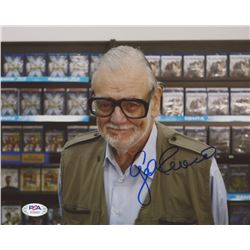 George Romero Signed 8x10 Photo (PSA COA)