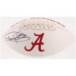Derrick Henry Signed Alabama Crimson Tide Logo Football (Radtke COA  Henry Hologram)
