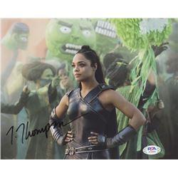 """Tessa Thompson Signed """"Thor: Ragnarok"""" 8x10 Photo (PSA COA)"""