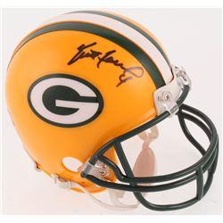 Brett Favre Signed Green Bay Packers Mini-Helmet (Radtke COA)