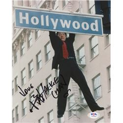 """Jackie Chan Signed """"Rush Hour"""" 8x10 Photo Inscribed """"Love"""" (PSA COA)"""
