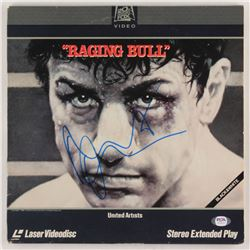 "Robert De Niro Signed ""Raging Bull"" Vinyl Record Album Cover (PSA COA)"