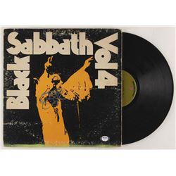 "Ozzy Osbourne Signed Black Sabbath ""Vol. 4"" Vinyl Record Album Cover (PSA COA)"