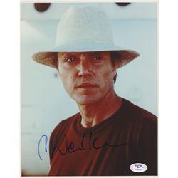"Christopher Walken Signed ""The Deer Hunter"" 8x10 Photo (PSA COA)"