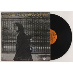 """Neil Young Signed """"After the Gold Rush"""" Vinyl Record Album Cover (PSA COA)"""