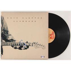 "Eric Clapton Signed ""Slowhand"" Vinyl Record Album Cover (PSA LOA)"