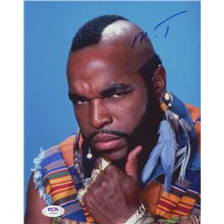 Mr. T Signed 8x10 Photo (PSA COA)